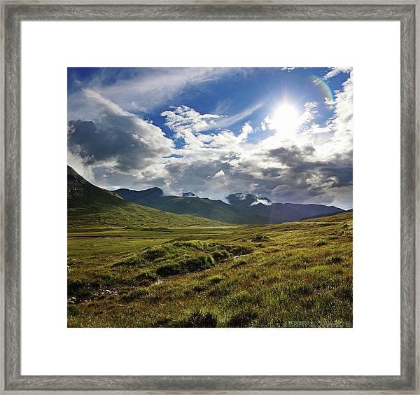 Highlands Afternoon Framed Print