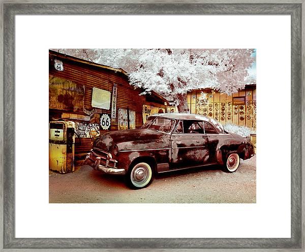 Highsmith Old Car Framed Print