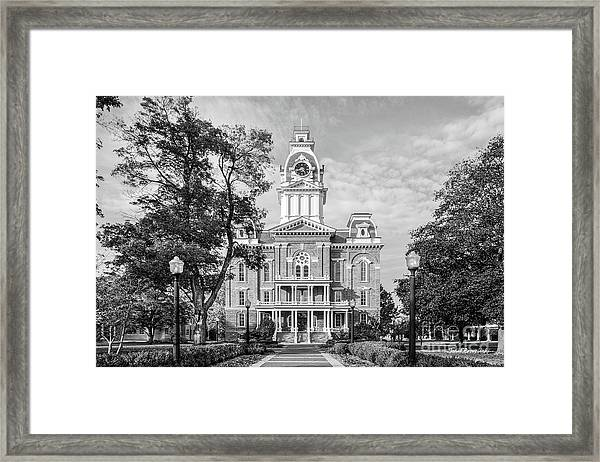 Hillsdale College Central Hall Framed Print
