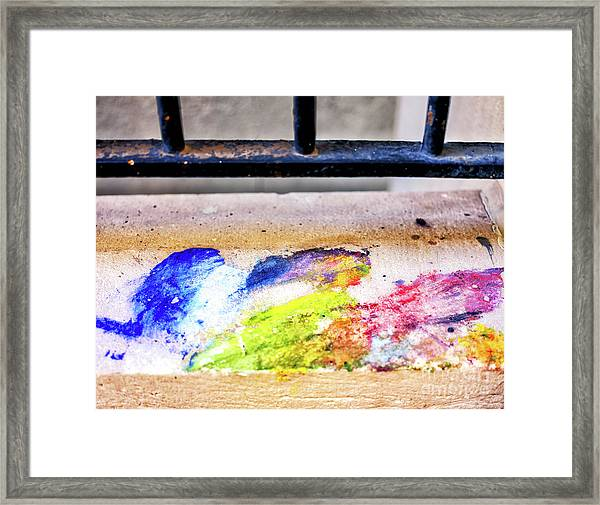 Hint Of Color In New Orleans Framed Print by John Rizzuto