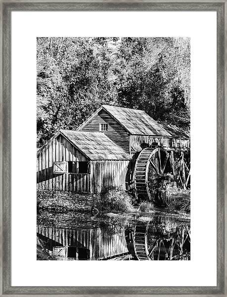 Historic Mabry Mill Framed Print
