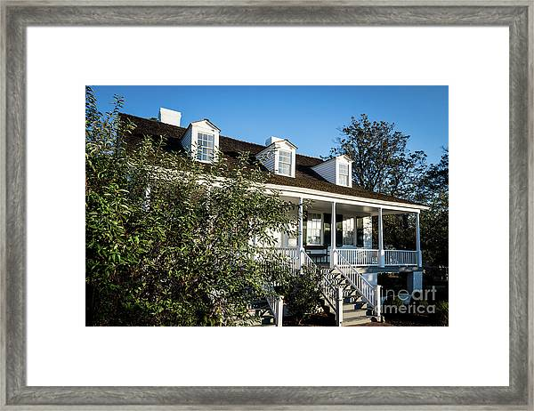 Historic Meadow Garden Augusta Ga Framed Print
