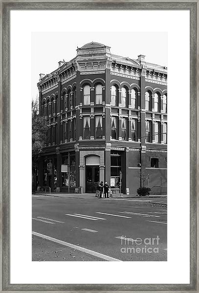 Framed Print featuring the photograph Historic Structures 1 by Jeni Gray