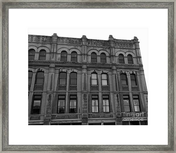 Framed Print featuring the photograph Historic Structures 3 by Jeni Gray