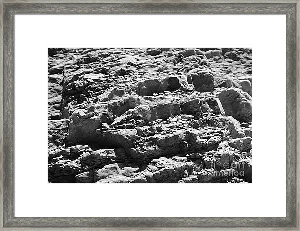 Historic Textures Framed Print