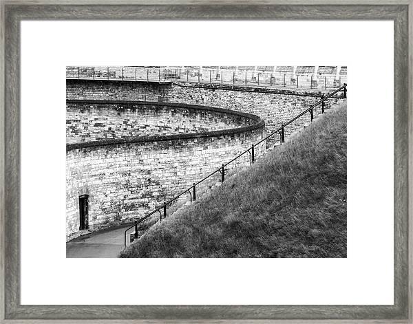 Lincoln Castle Framed Print