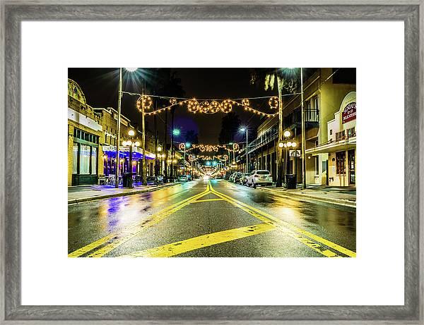 Historic Ybior City Framed Print