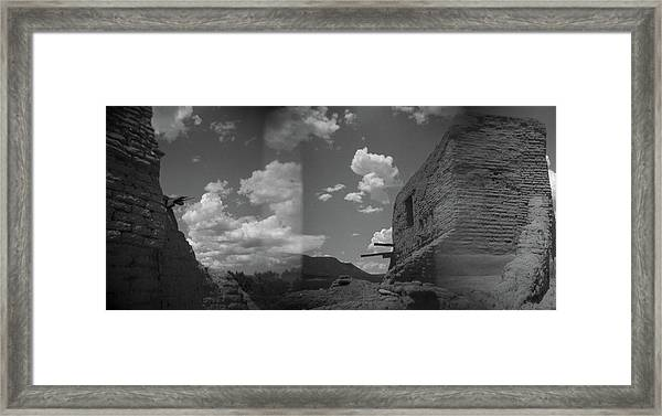 Holga Triptych 2 Framed Print
