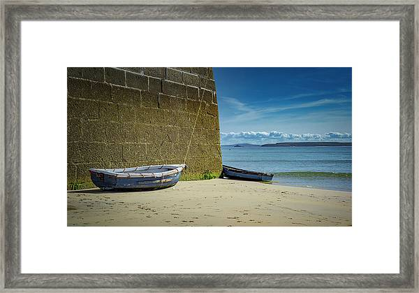 Holidays In St Ives Cornwall Framed Print