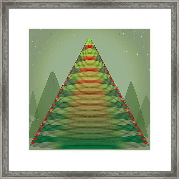 Holotree Framed Print