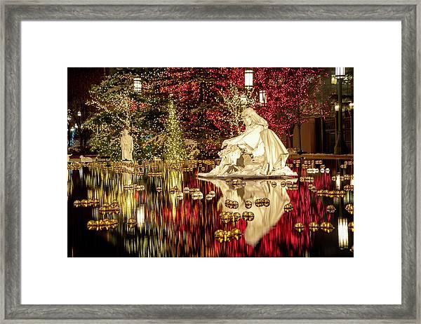 Holy Birth Framed Print