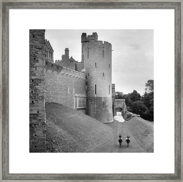 Home Grounds Framed Print
