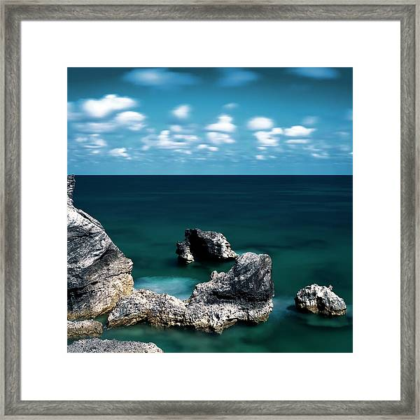 Horseshoe Bay Framed Print