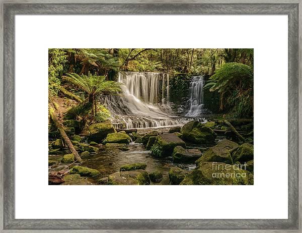 Horseshoe Falls 01 Framed Print