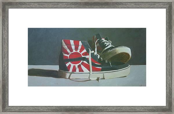 Hosoi Vans Framed Print