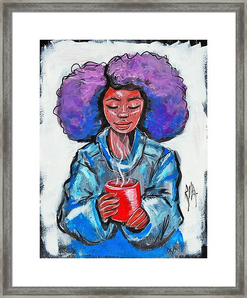 Hot Cocoa Framed Print