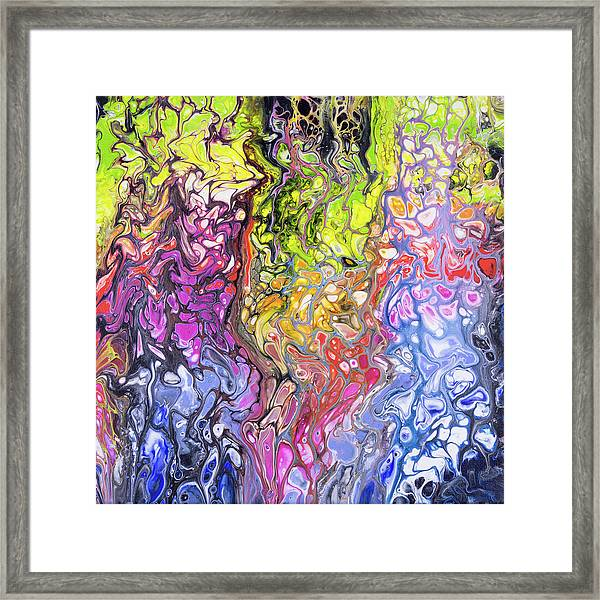 Hot Lava Framed Print