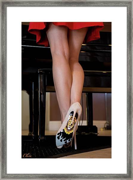 Hot Legs Framed Print