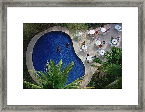 Hotel Camino Real Framed Print