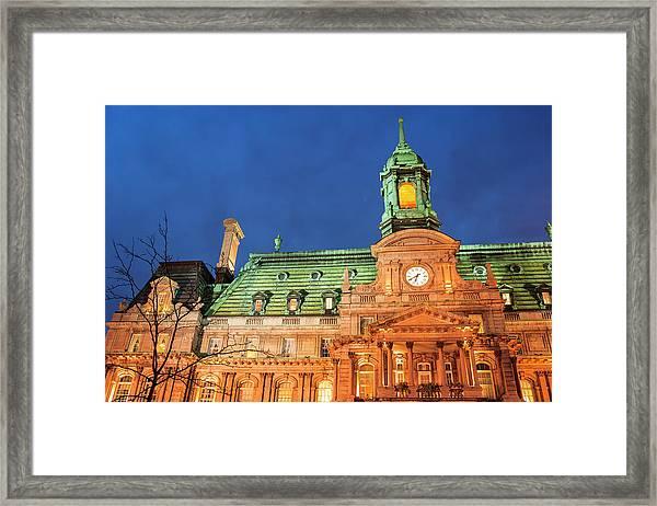 Hotel De Ville Is Actually An Opulent Framed Print