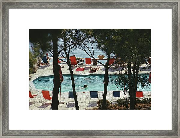 Hotel Il Pellicano Framed Print