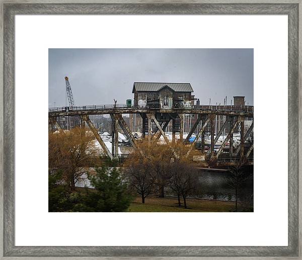 House Bridge Framed Print