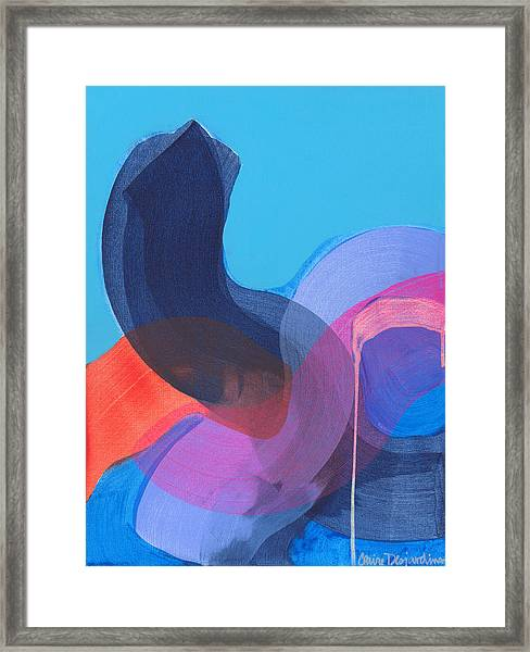 How Did It Get To Be So Late? Framed Print