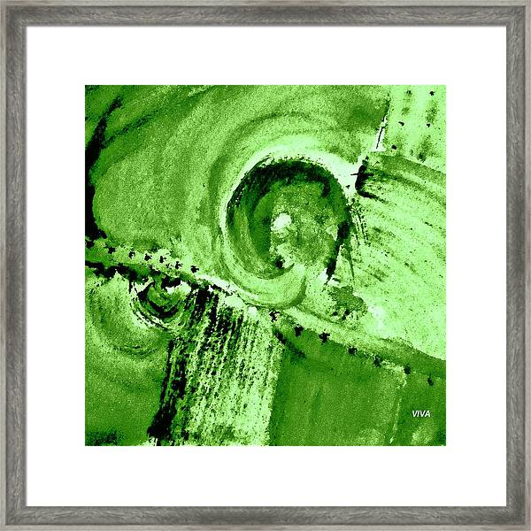 How Green Was My Valley Framed Print