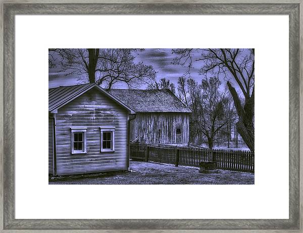 Humble Homestead Framed Print