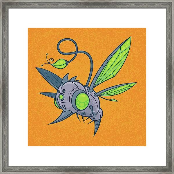 Humm-buzz Framed Print