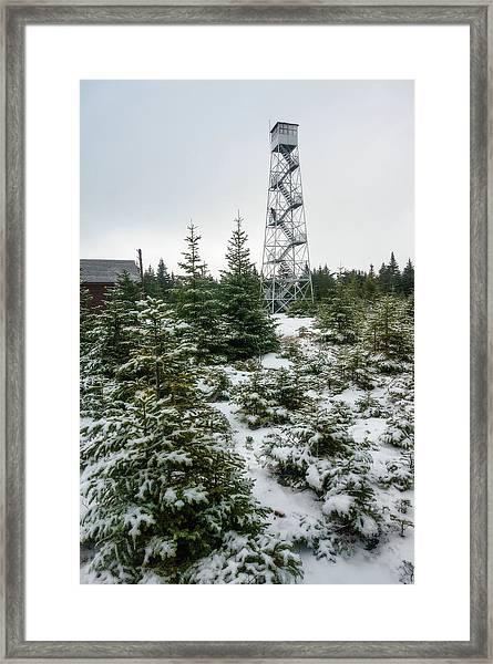 Hunter Mountain Fire Tower Framed Print