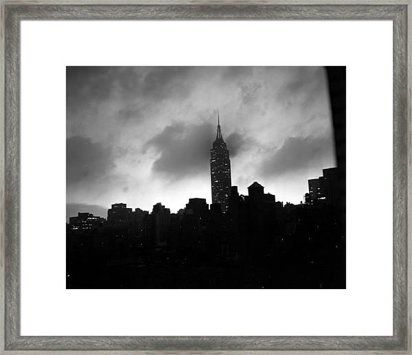 Hurricane Hazel Framed Print