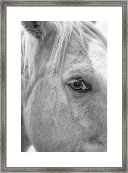 I C U Framed Print