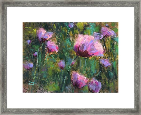 I Dream Of Purple Framed Print