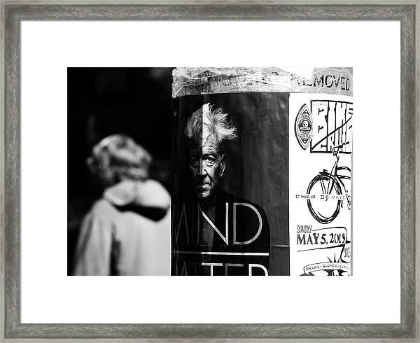 I Mind Your Mind  Framed Print