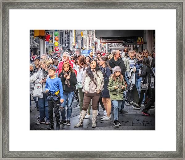 I See You, Mr. Photographer Framed Print