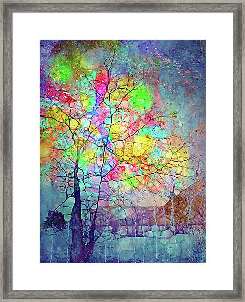 I Will Shine For You, Even In This Storm Framed Print