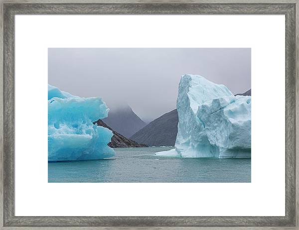 Ice Giants Framed Print