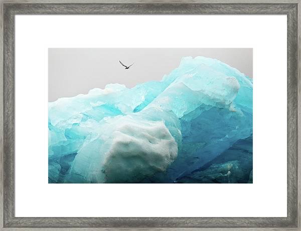 Iceland Iceberg Framed Print