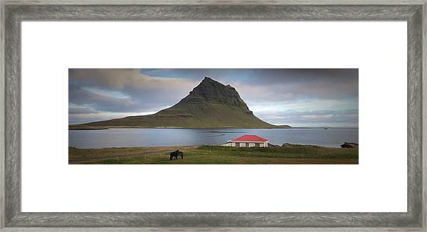 Iceland  Framed Print