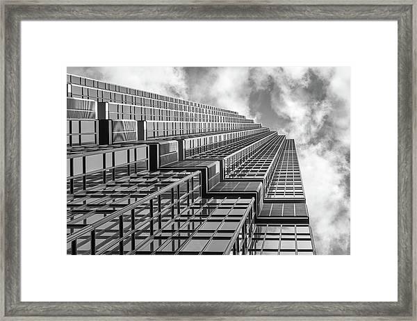 Ids Center, Minneapolis, Monochrome Framed Print by Jim Hughes