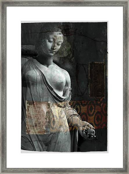 If Not For You - Statue Framed Print