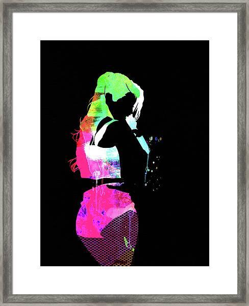 Iggy Watercolor II Framed Print