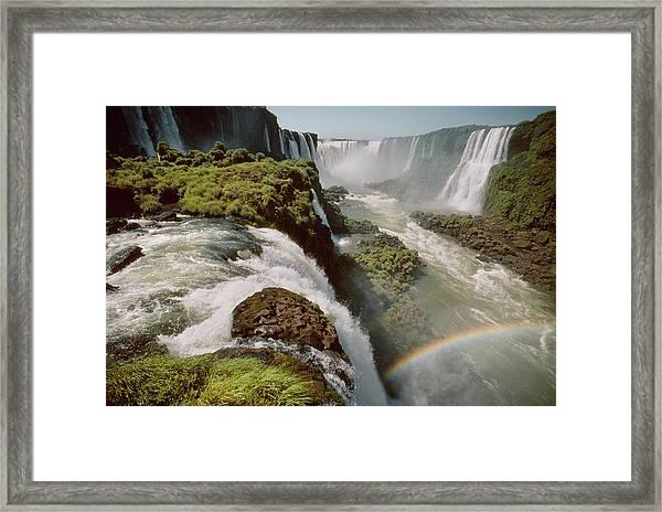 Iguazu Falls Framed Print by Harald Sund