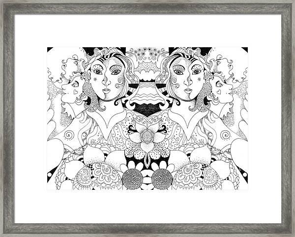 Imagine 3 Framed Print