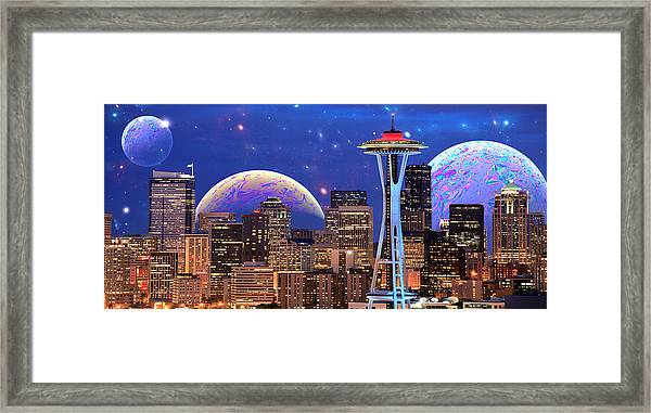 Imagine The Night Framed Print