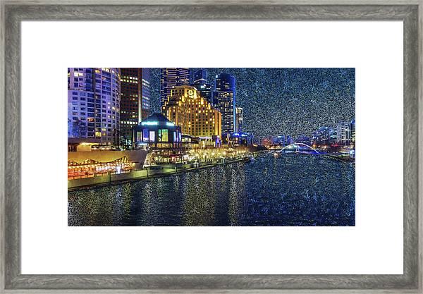 Impression Of Melbourne Framed Print
