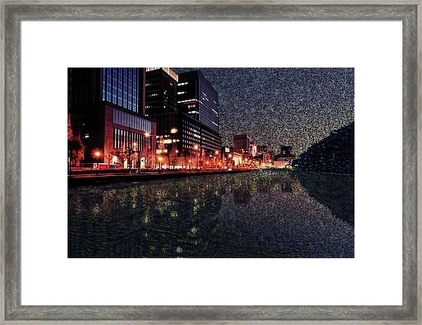 Impression Of Tokyo Framed Print