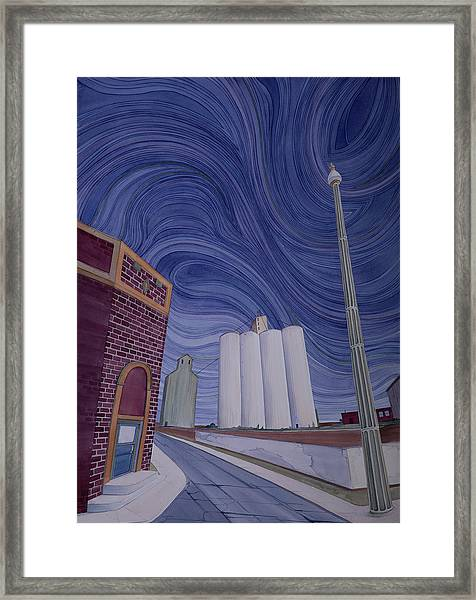 Framed Print featuring the painting Impressions Of Harrington by Scott Kirby