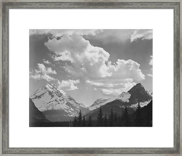 In Glacier National Park Framed Print by Buyenlarge
